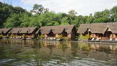 река Квай, наш отель в джунглях