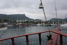 прогулка на яхте. Порт Кемера