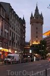 Eschenheimer Turm (Эшенхаймерская башня) в свое время была одной из дозорных башен городского укрепления