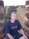 форт времен колонизации Индии