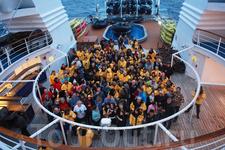 "Празднование Нового года на борту судна класса люкс ""Оушен Даймонд"""