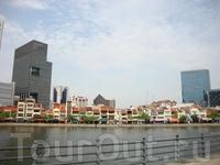 вид на Boat Quay