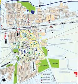 Карта Туймазы