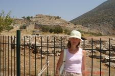 Микены-древний город. Микенский акрополь.