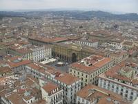 Вид сверху на Флоренцию