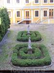 Вид на внутренний сад.