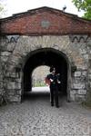 Караульный в крепости Акерхус