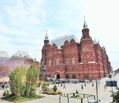 Государственный Исторический музей - на мой взгляд одно из самых красивых зданий у площади. И цель моего следующего визита в Москву