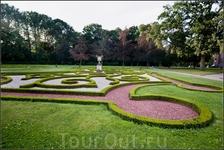 Маленький Версаль – так называют парк замка Де Хаар