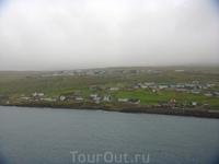 Туман так и не рассеялся, а мы покидаем славные Фарерские острова