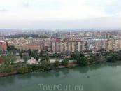 Вид на современную часть города.