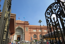 Каир, вход в музей, в самом музее снимать нельзя