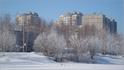 вид на ул. Ленинского Комсомола со стороны дер. Пятино (в черте города)