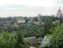 Вид со смотровой площадки у Успенского собора.