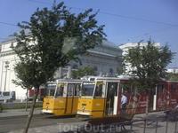 Трамвай Будапешта.