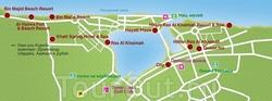 Туристическая карта Рас эль-Хаймы