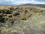После извержения вулканов, лава начала потихоньку обрастать мхом и всякой непонятной растительностью.