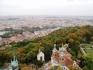 Вид на Вышеград с хлма Петршин