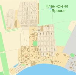Карта Яровое