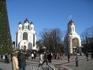 Собор и часовня на центральной площади