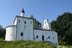 Псковская область, Изборск, Никольская церковь на Труворовом городище.