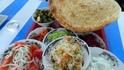 Знакомство с Бухарой начинается с разнообразных салатов в столовой-ресторане на окраине города.
