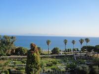 Эгейское море. Вид с балкона нашего отеля.