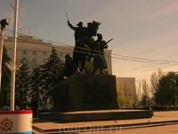 Железнодорожный район.Ростов