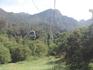 Мы ездили на экскурсию в горы и поднимались на фуникулере.