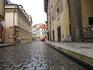 В Праге дождик....