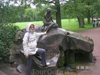 """в Екатерининском парке. """"Девушка с кувшином""""... и еще одна девушка..."""