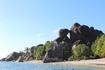 Великолепные бухточки на пляже Сурс д,Аржан