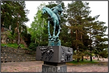 Фрагмент фонтана Фильбютеров