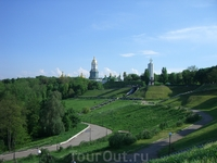 Очень зеленый город