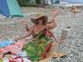 """на пляже,картина называется"""" Домидитировалась!"""""""