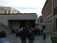 Мадрид. Музей Прадо. Вход