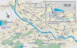карта тбилиси на русском языке с улицами скачать - фото 8