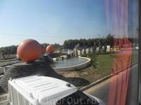 Памятник апельсинам -Анталия