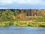 Волга - островки, заливы.