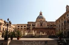 Палермо, фонтан Стыда