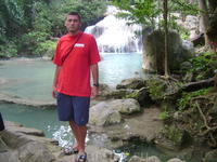 23 декабря 2010. Erawan Waterfall.