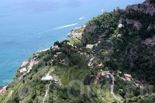 Равелло – Вилла Чимброне / Villa Cimbrone - Terrazza dell'Infinito – Терраса Бесконечности.