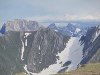 Северный склон хребта Агульские белки