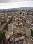 Франкфурт из окна отеля.