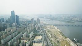 Сеул с высоты 249 метров