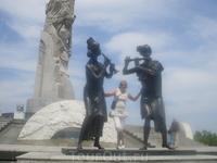 Парк мировых скульптур.