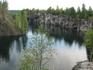 Горный парк Рускеала предлагает для туристов как водный маршрут экскурсии, так и наземный.