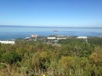 Владивостокская крепость. Вид на Амурский залив.