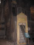 внутри Собора Айя-Софии_султанская ложа