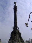 Памятник Колумбу (вид сзади )